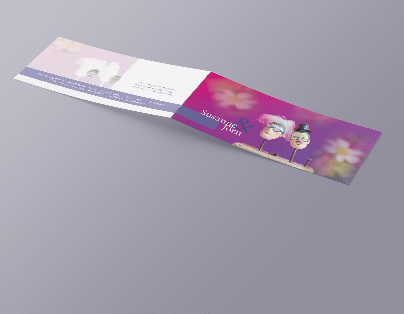 Read more about the article Einladungskarte für eine private Feier